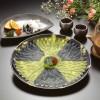 Pesce palla e sashimi al veleno