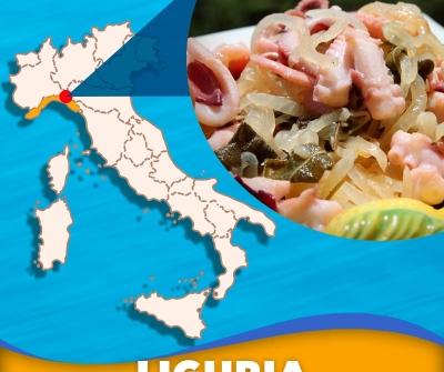 Tour regionale Pescevivo: Liguria