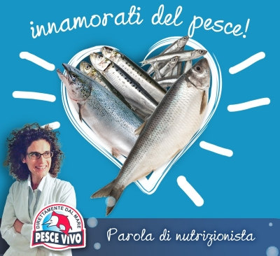 Consiglio della nutrizionista: Innamorati del pesce!