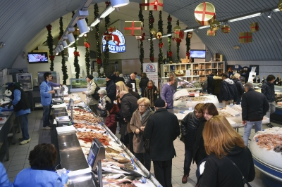 natale in pescheria