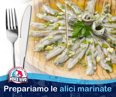 In cucina: prepariamo le Alici Marinate