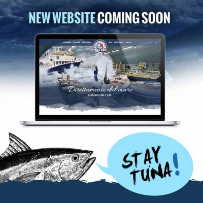 New website Pescheria Pesce Vivo: stay tuna!