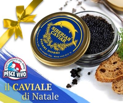 Pisani Dossi: il caviale di Natale
