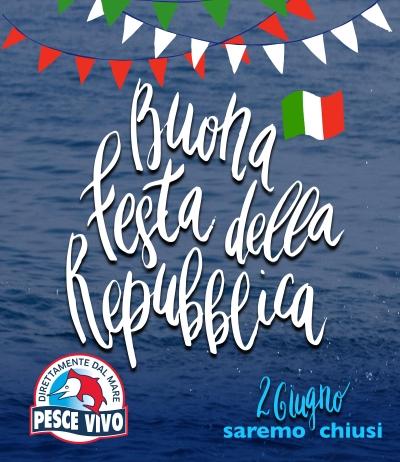 Chiusura 2 giugno Festa della Repubblica