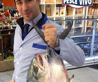 Leccia pescata in Sardegna