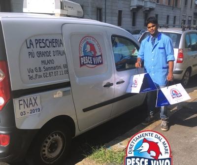 Consegna a domicilio gratuita nel comune di Milano