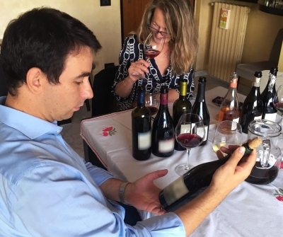 Selezione nuovi vini in corso