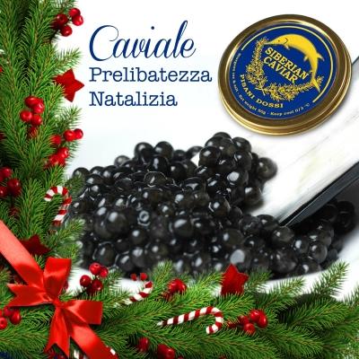 Il caviale: prelibatezza natalizia