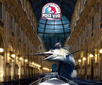 Il pesce spada appena uscito dal mare… a Milano?