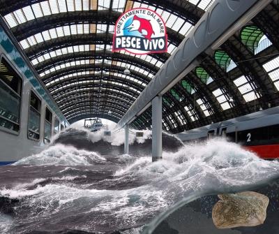 Milano col mare – Stazione Centrale