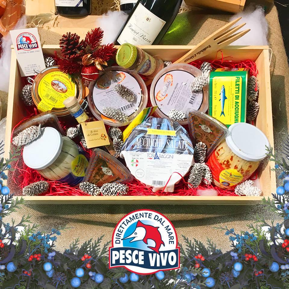 Cesti natalizi regalo Natale 2017   Pescheria Pesce Vivo